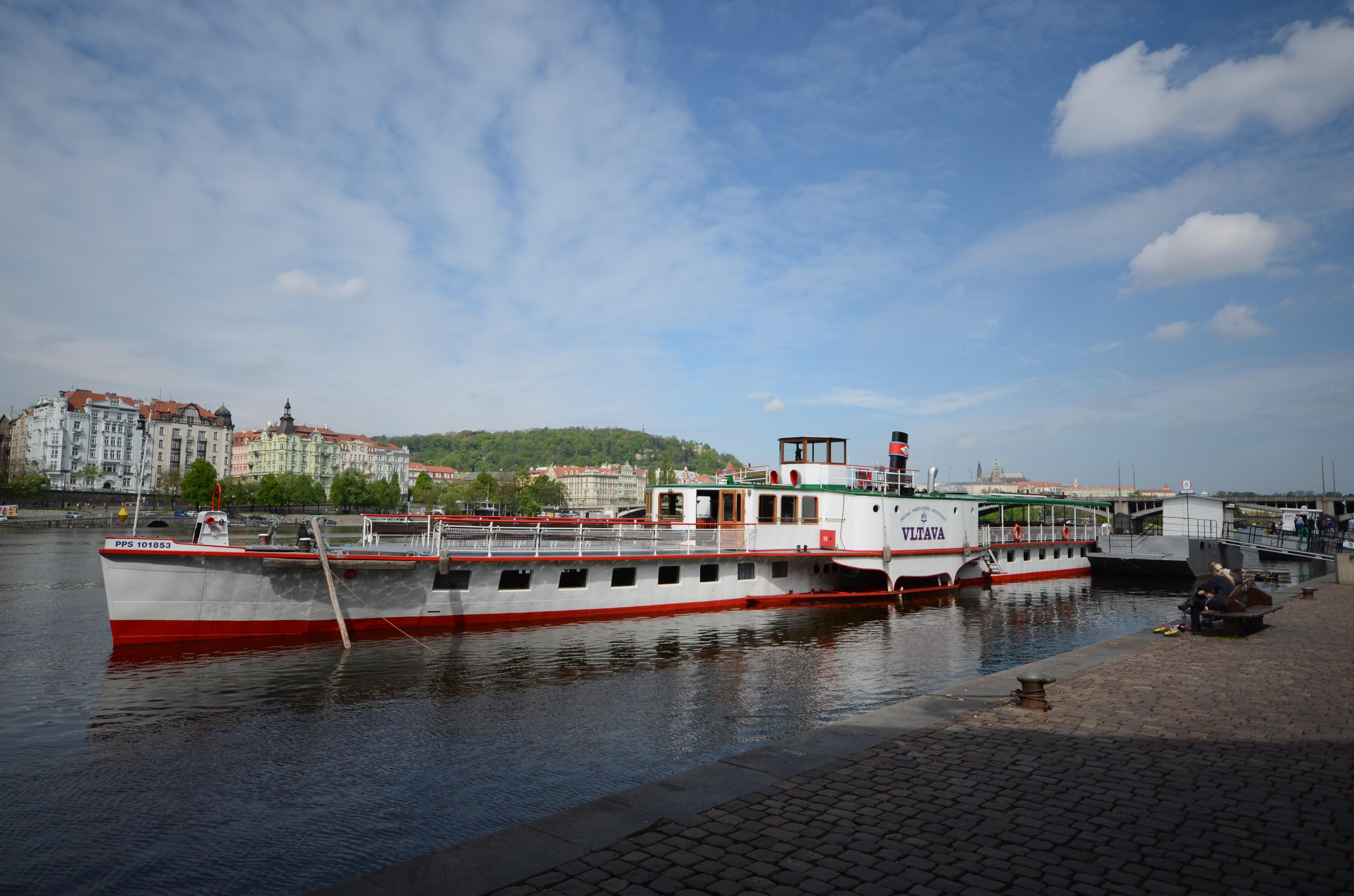 le bateau Vltava