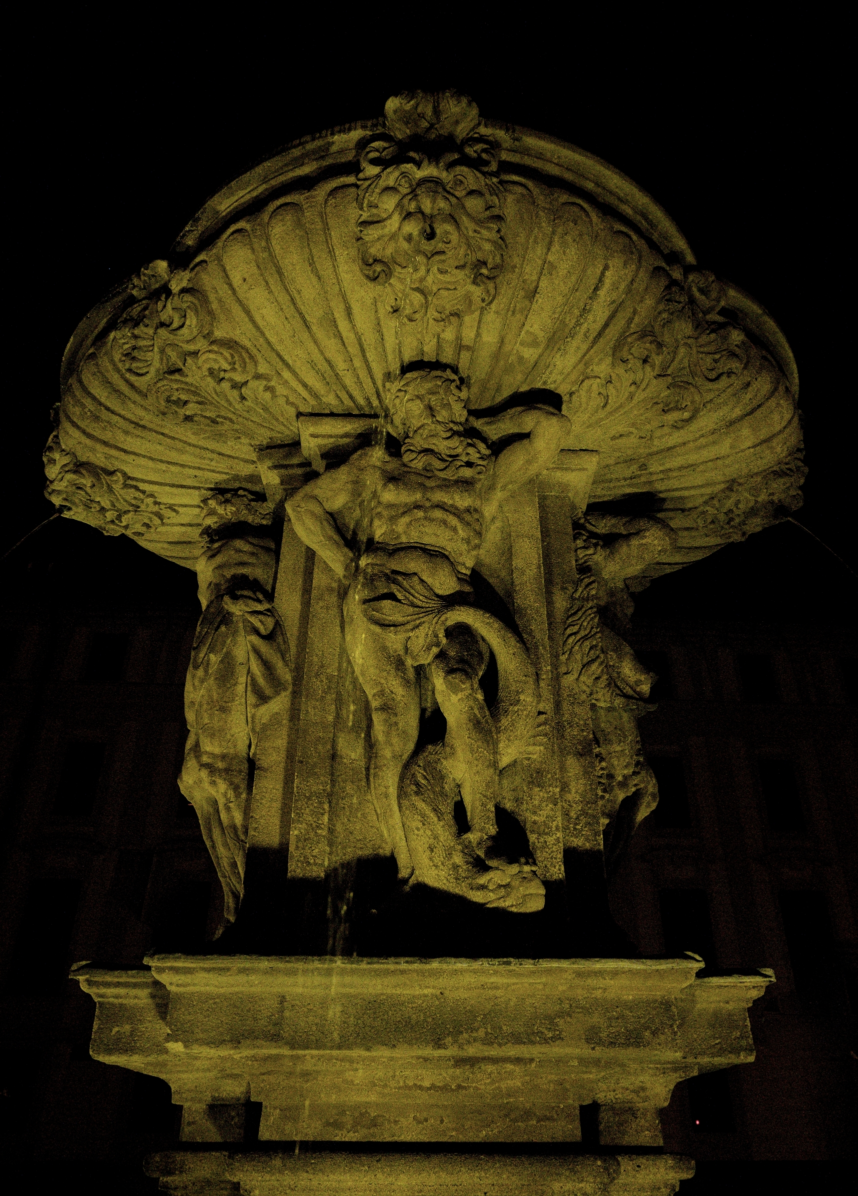 Kohl´s Fountain in detail