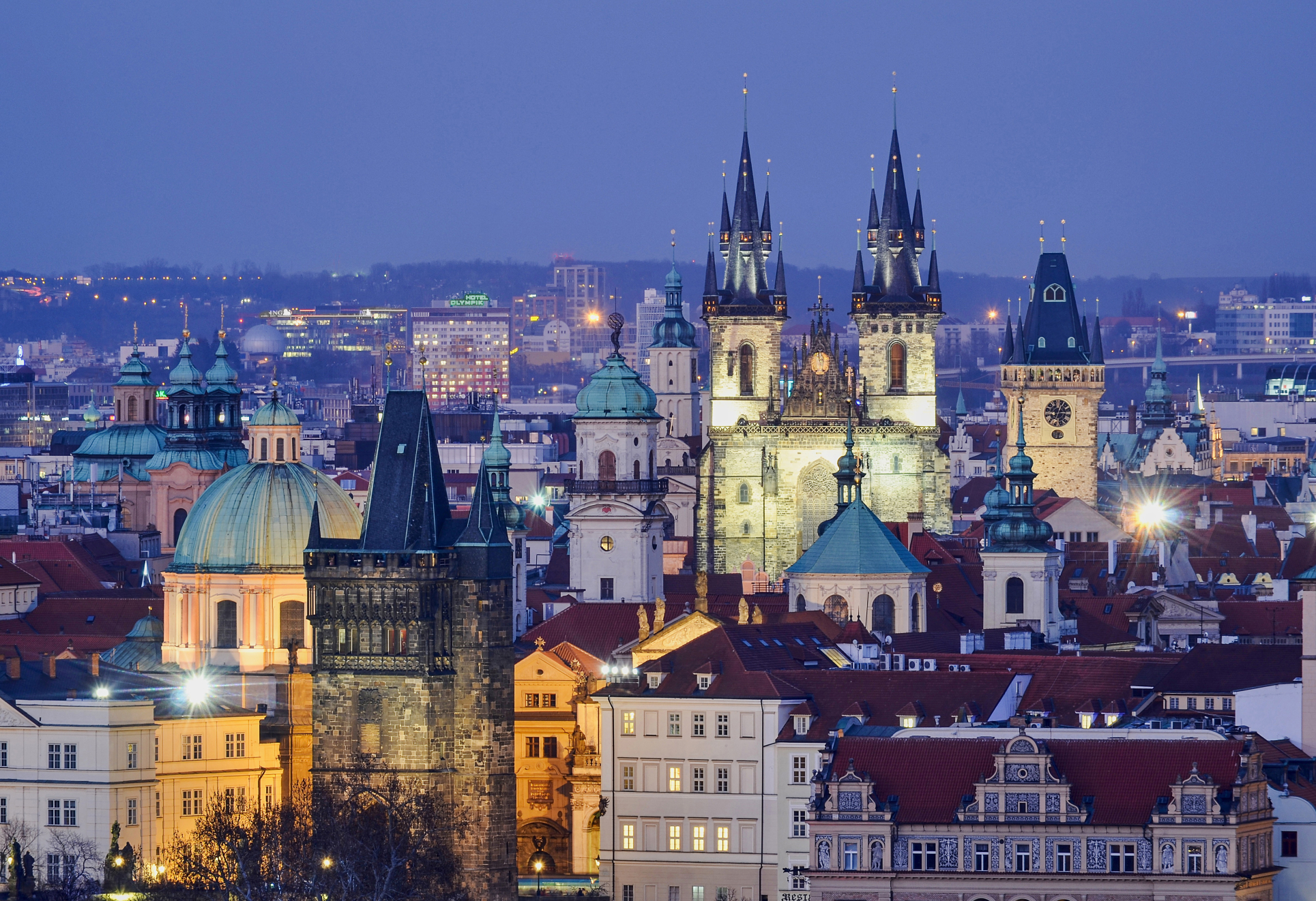 Prague - the city of Spires