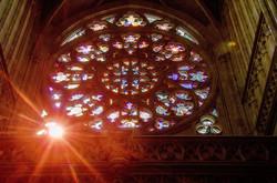 Ornamental rosette of St Vitus