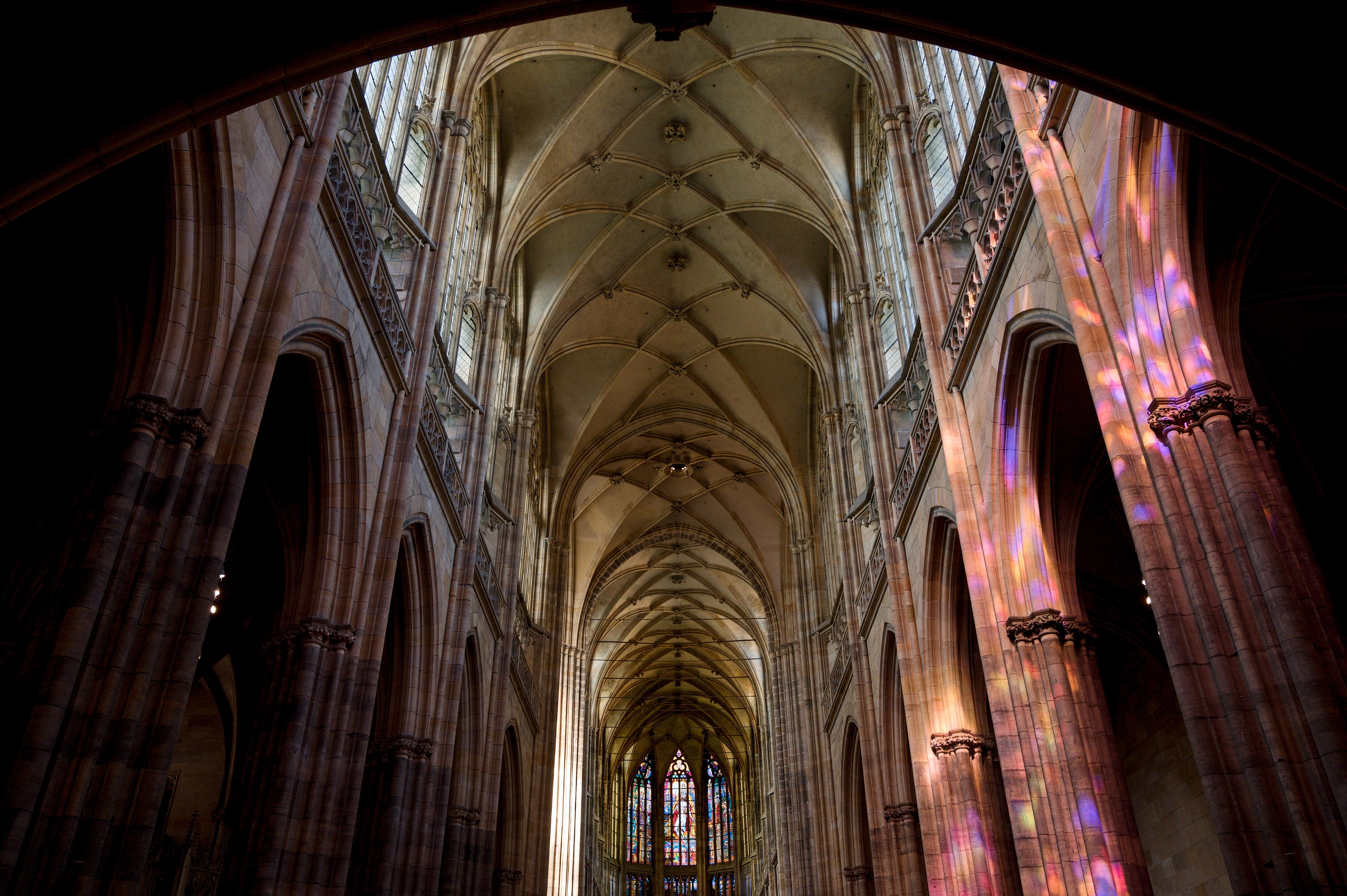 Interier katedrály sv. Víta