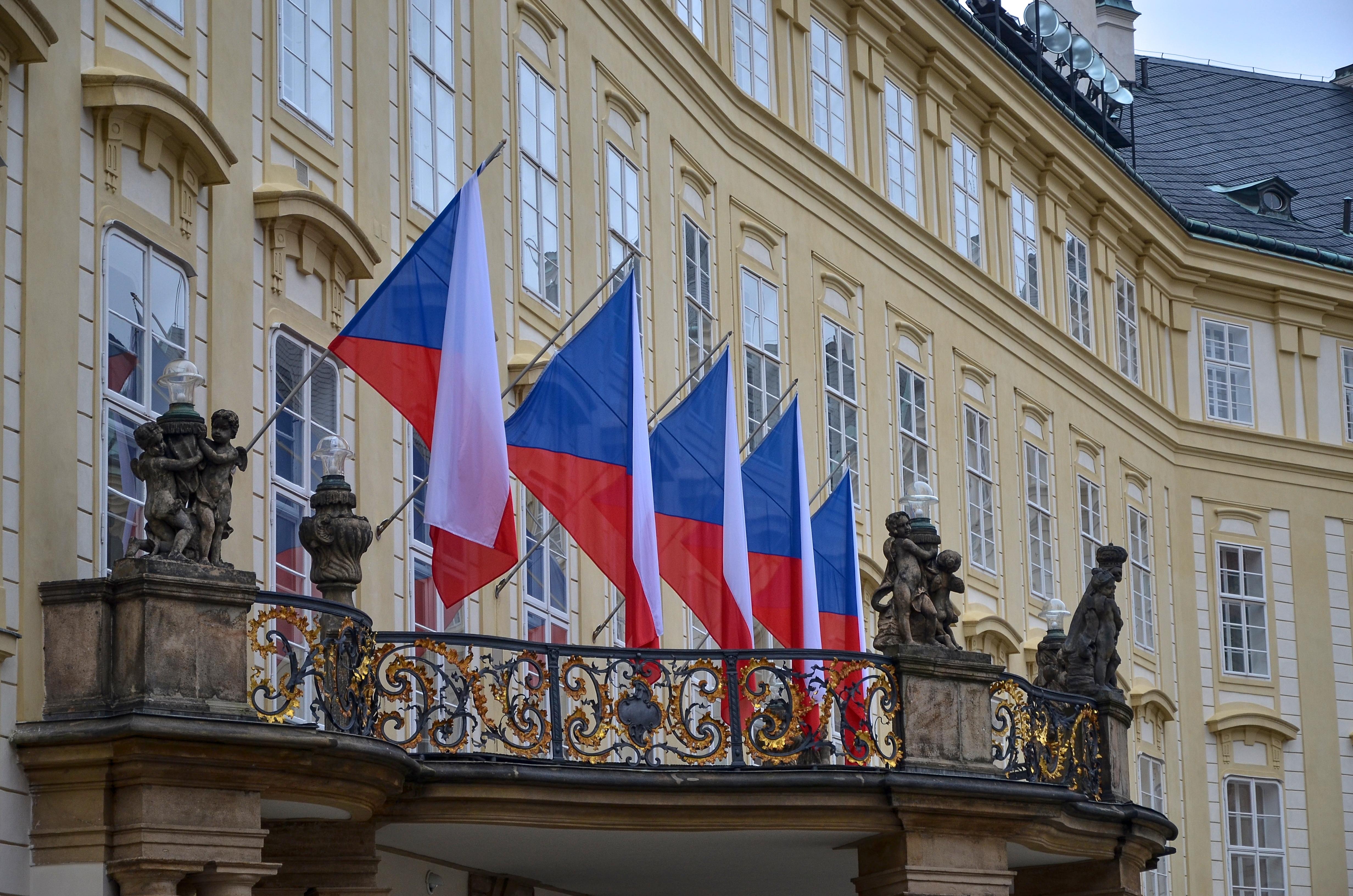 Les drapeaux de la République Tchèque