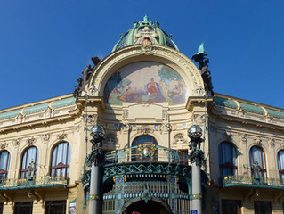 Alfons Mucha, art deco and Prague