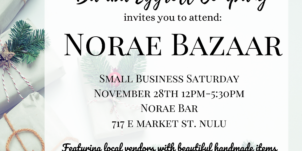 Small Business Saturday Bazaar