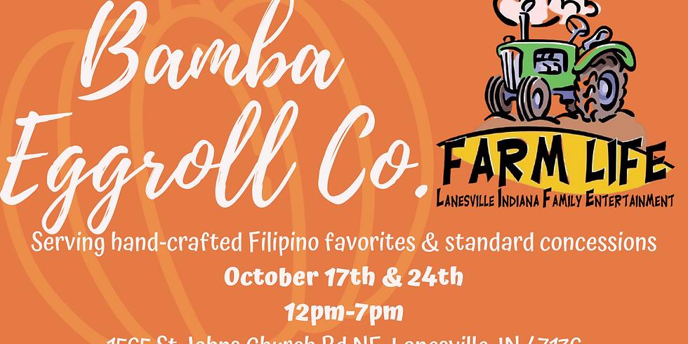 Bamba Eggrolls at FarmLife Family Farm