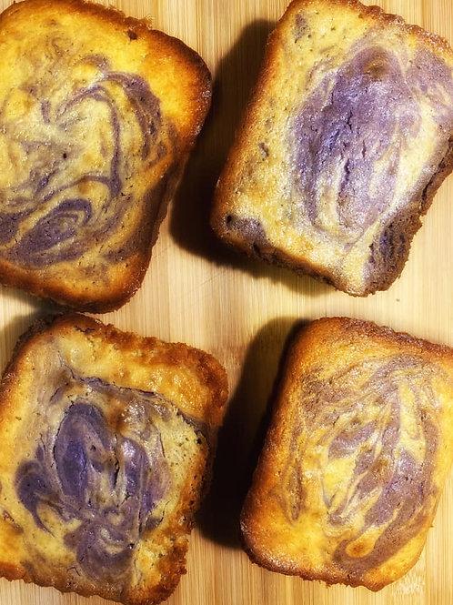 Ube Cheddar Loaf