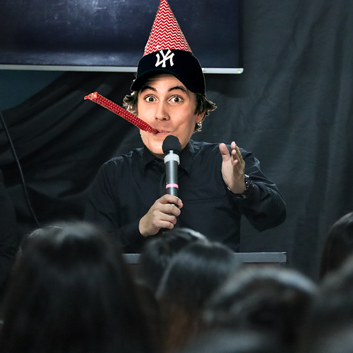 I'll give a speech at your event