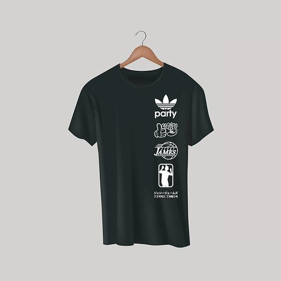 Jesse James Classic Party T-Shirt - Black