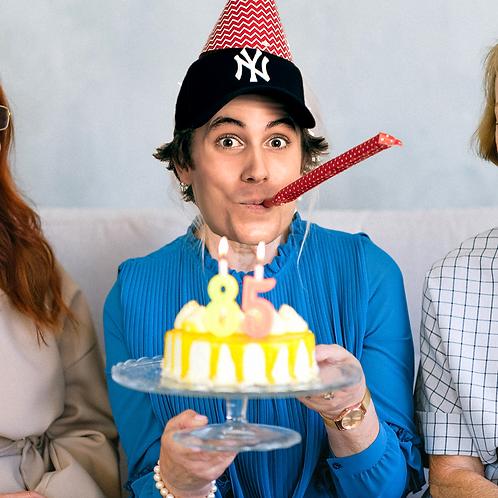 I'll bake you a birthday cake