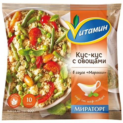 """Кус-кус с овощами в соусе """"Марокко"""""""