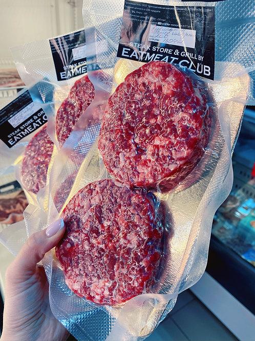 Котлеты для бургеров из мраморной говядины (из вырезки)