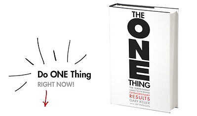 The ONE Thing Business Coaching and Training, The ONE Thing Book, Gary Keller, Geoff Woods, Millionaire Productivity Habits, Time Blocking