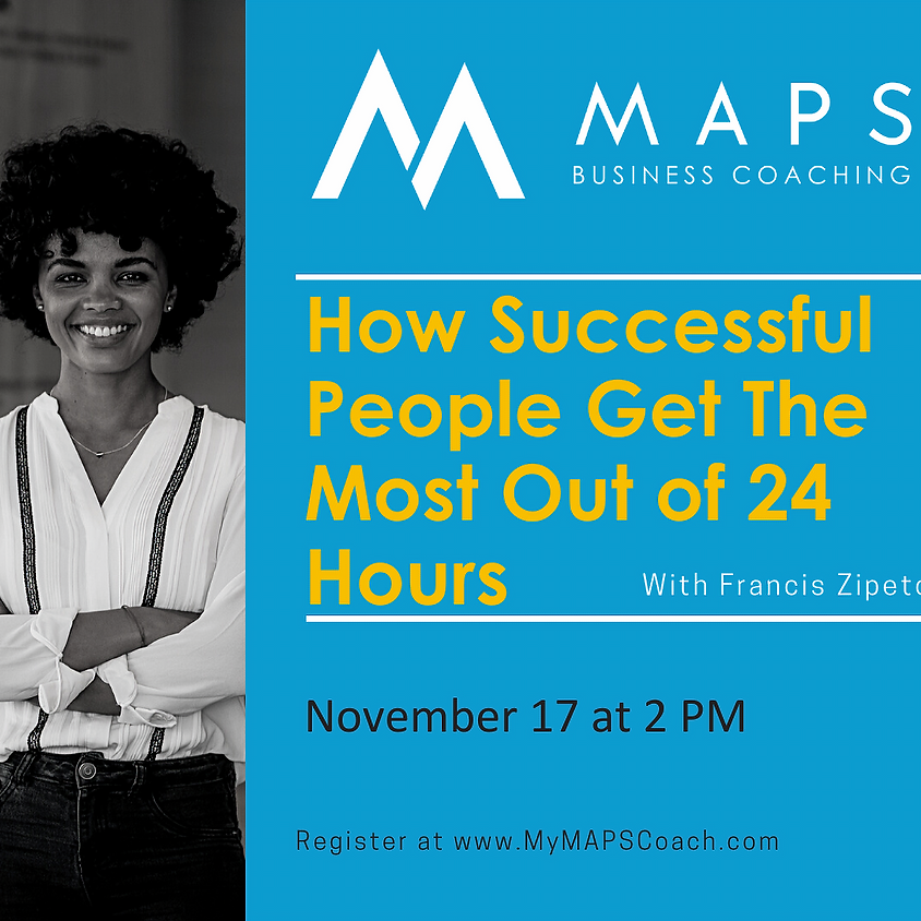 How Successful People Get the Most Out of 24 Hours