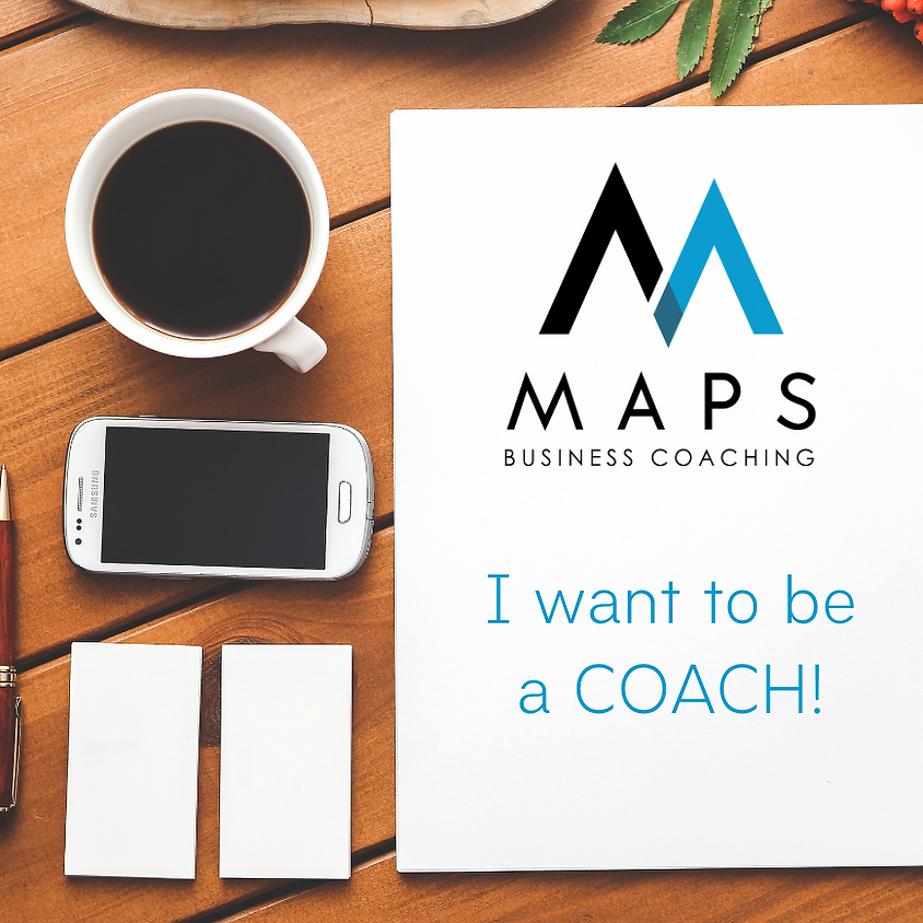 I want to be a COACH!