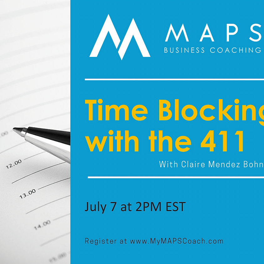 Time Blocking with the 4-1-1