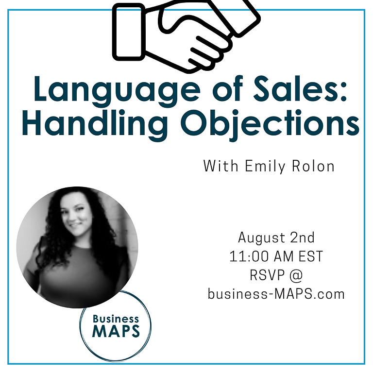 Language of Sales: Handling Objections