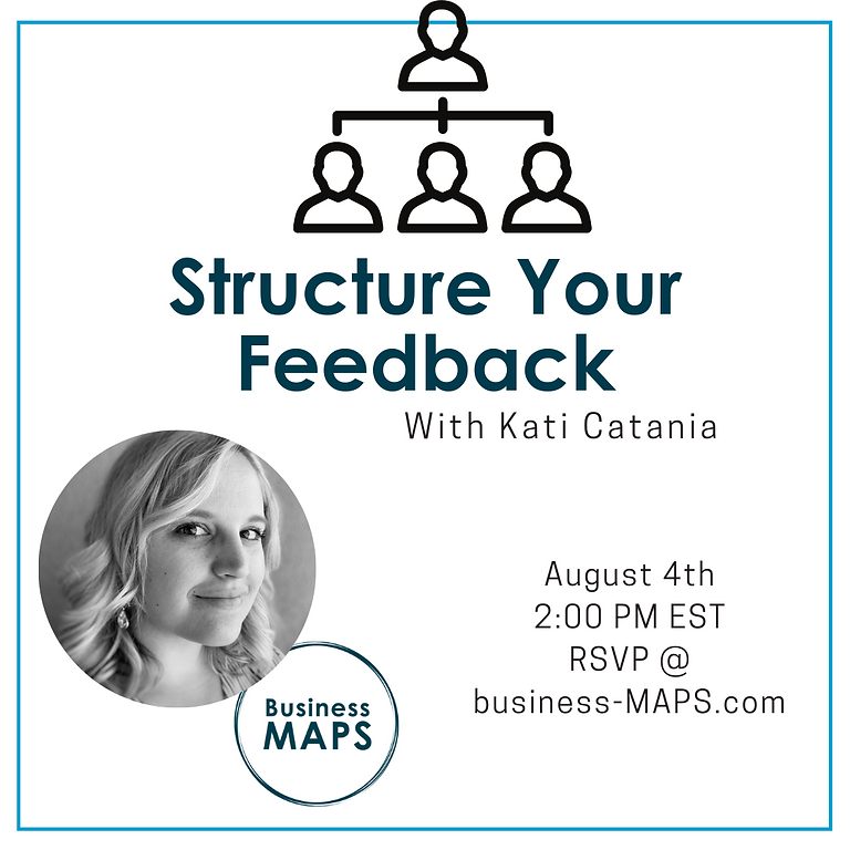 Structure Your Team Feedback