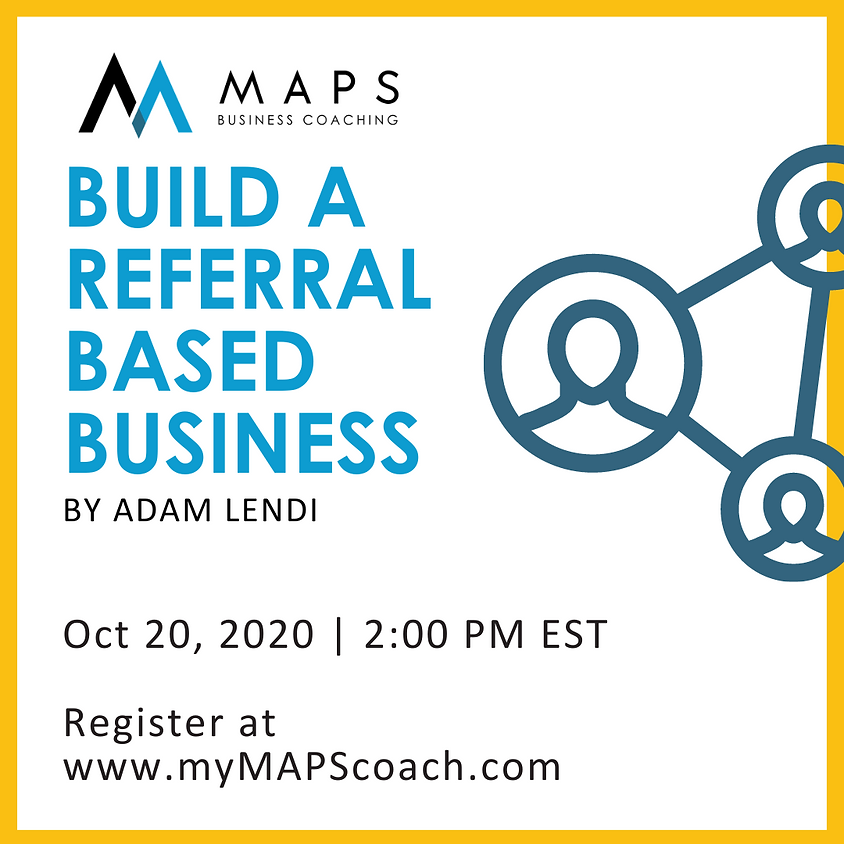 Build A Referral Based Business