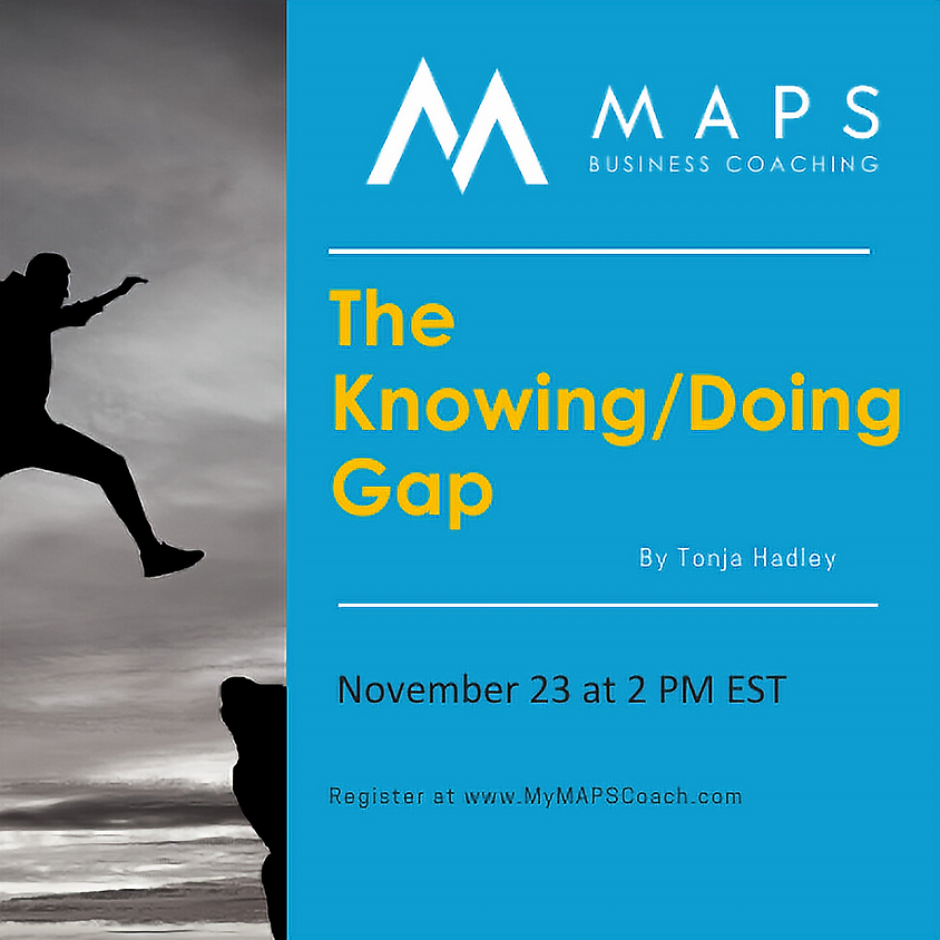 The Knowing/Doing Gap