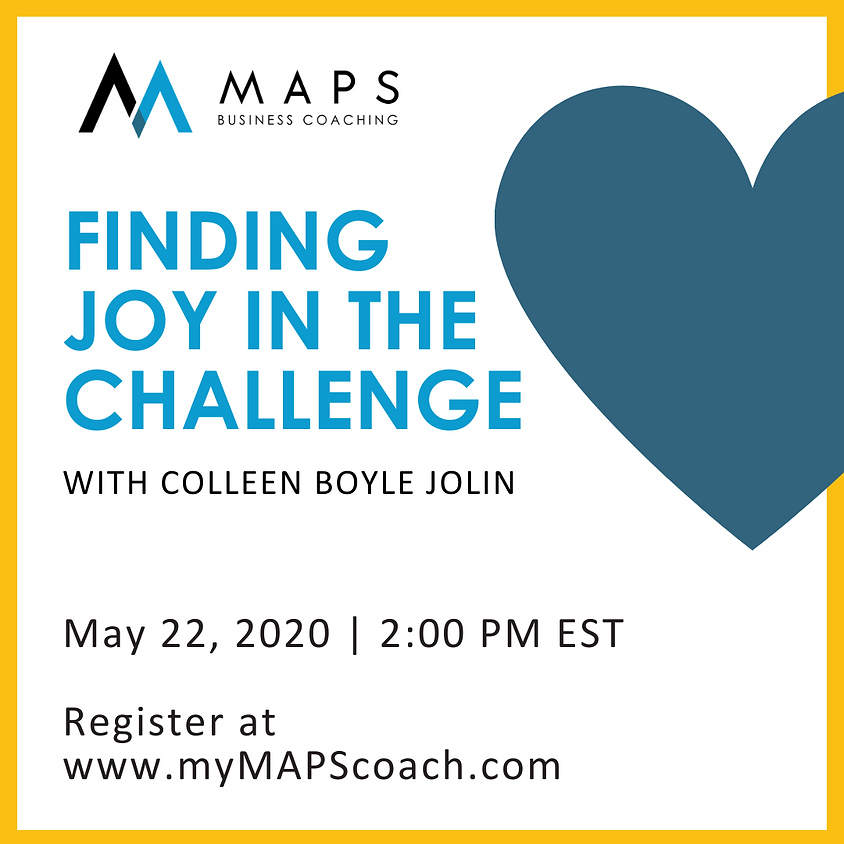 Finding Joy in the Challenge
