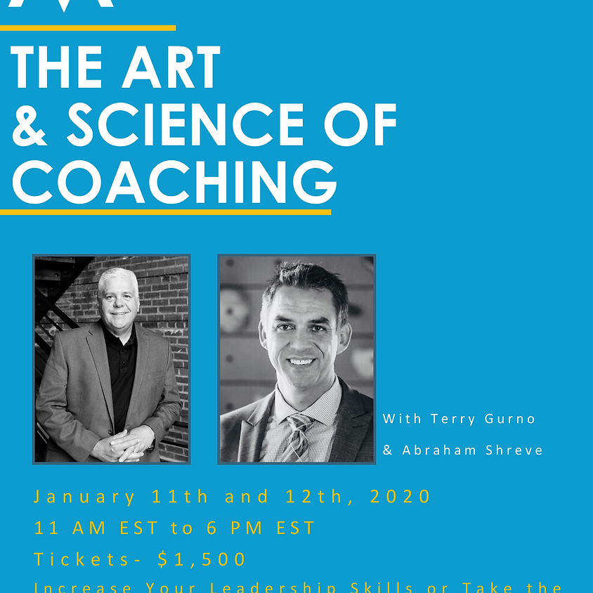 The Art & Science of Coaching! Become an MBC Coach! ONLINE SESSION!  (1)