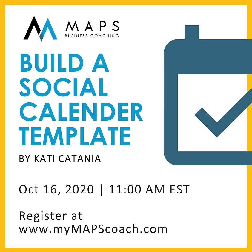 Build a Social Calendar Template