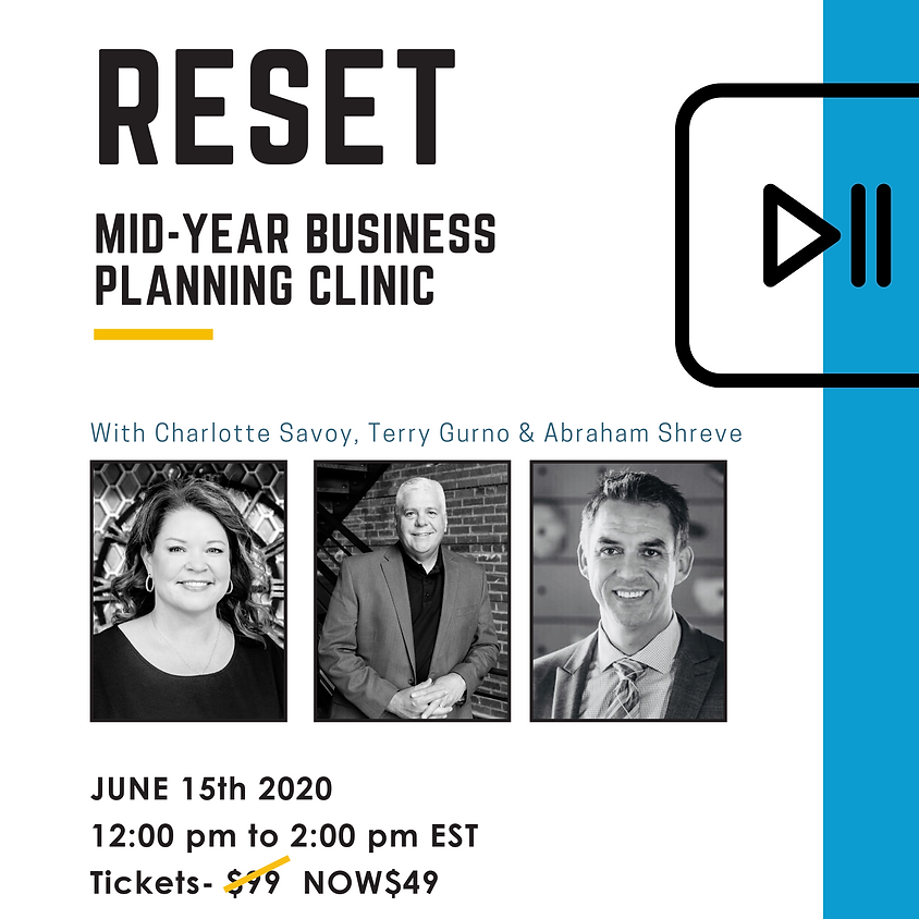 RESET Mid-Year Business Planning Clinic