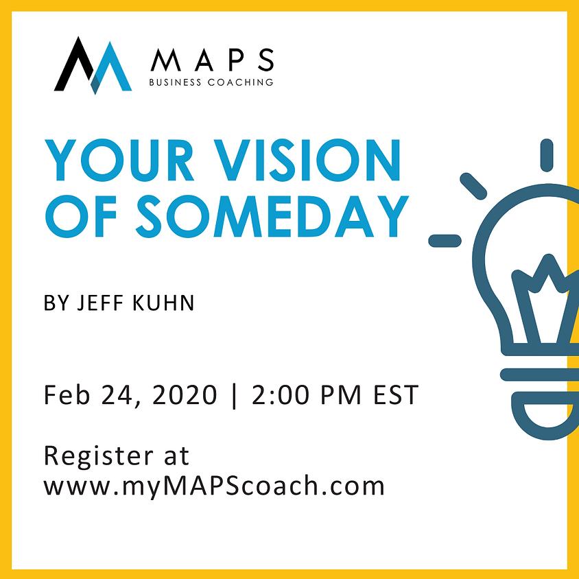 Your Vision of Someday
