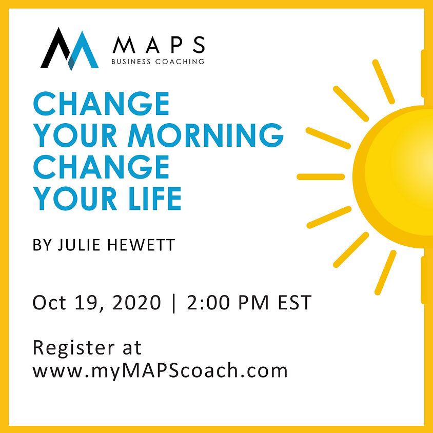 Change Your Morning Change Your Life