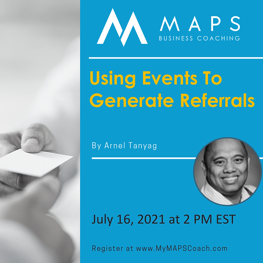 Using Events to Generate Referrals