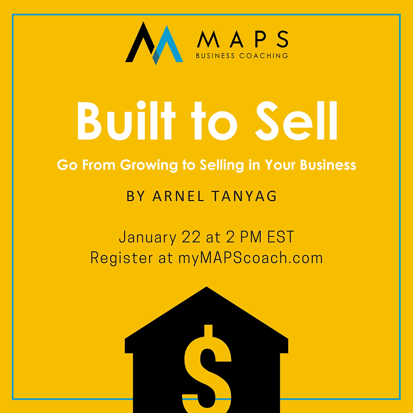 Built to Sell: Go From Growing to Selling in Your Business