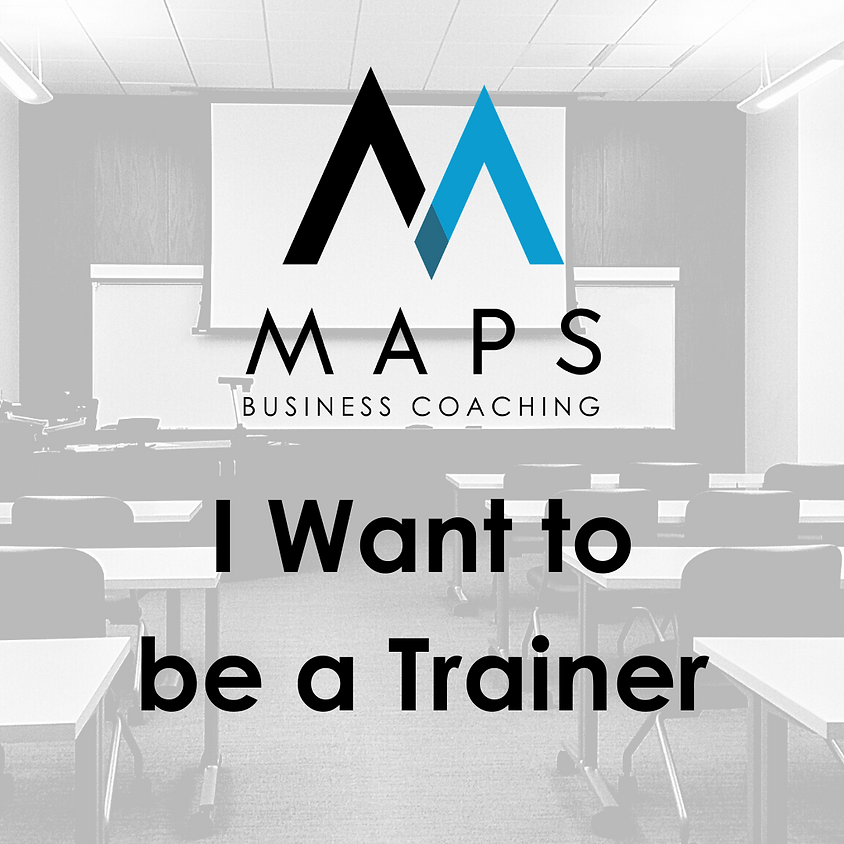 I want to be a Trainer