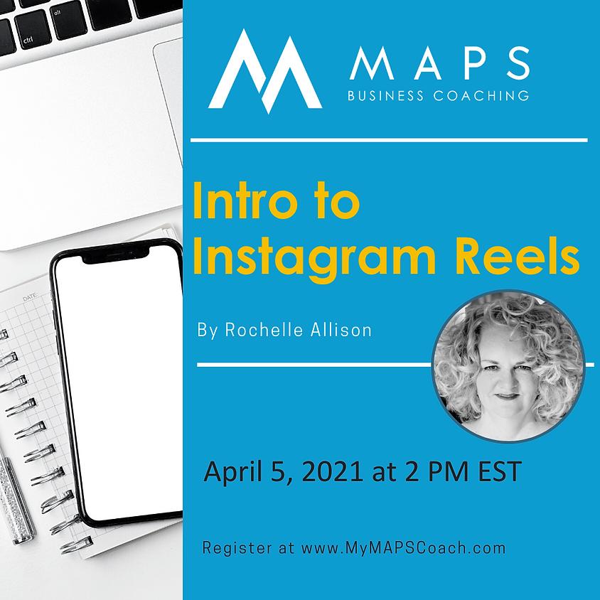 Intro to Instagram Reels