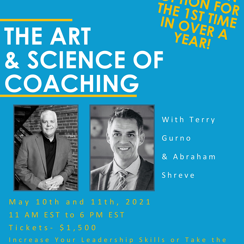 The Art & Science of Coaching! Become an MBC Coach! IN-PERSON or ONLINE!