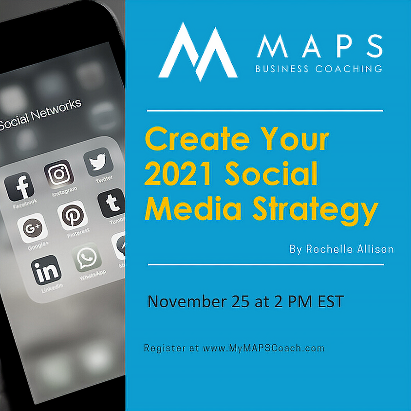Create Your 2021 Social Media Strategy