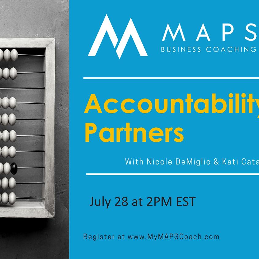 Accountability Partners - Nicole DeMiglio & Kati Catania