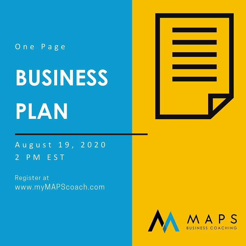 Creating Your One Page Business Plan with Julie Hewett