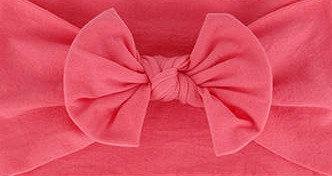 Coral Bow Headband