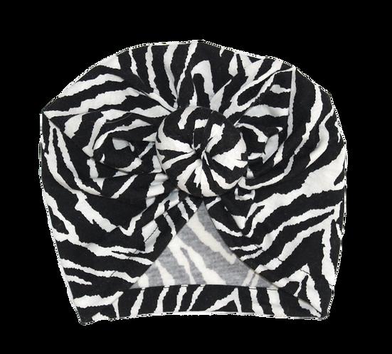 Zebra Donut Turban
