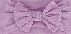 Dusty Purple Bow Headband