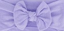 Lilac Bow Headband