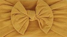 Mustard Bow Headband