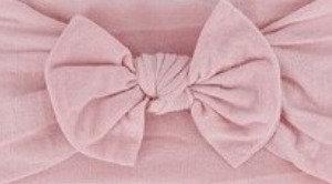 Dusty Pink Bow Headband