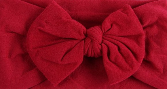 Valentine Red Bow Headband