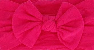 Fuchsia Bow Headband