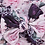 Thumbnail: Purple Floral Bow Headband