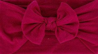 Cherry Bow Headband