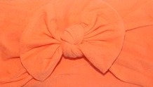Orange Bow Headband