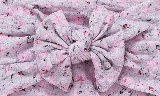 Cherry Blossom Bow Headband