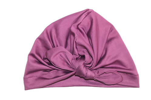 Grape Bow Knot Turban